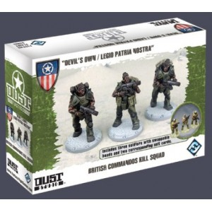 DUST Tactics - British Commandos Kill Squad