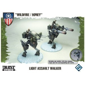 DUST Tactics - Light Assault Walker - Wildfire / Honey