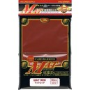 KMC - Standard - MAT 'Red' Sleeves (x80) - 92 x 66 mm