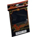 KMC - Standard - MAT 'Black' Sleeves (x80) - 92 x 66 mm