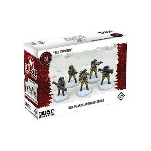 DUST Tactics - SSU Red Guard Antitank Squad
