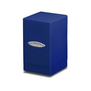 Boite Satin Tower Deck Box - Ultra Pro - Bleue