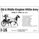 DBA3.0 - 1/16 HITTITE OLD & MIDDLE KINGDOM 1680-13807BC