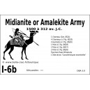 DBA3.0 - 1/6b MIDIANITE / AMALEKITE 1500-312 BC / EARLY ARAB 1000-312 BC