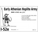 DBA3.0 - 1/52e EARLY ATHENIAN HOPLITE 668-541 BC