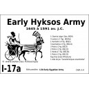 DBA3.0 - 1/17a EARLY HYKSOS ARMY 1645-1591 BC