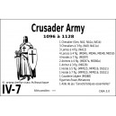 DBA3.0 - 4/7 CRUSADER ARMY 1096-1128