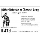 DBA3.0 - 2/47d OTHER BATAVIAN or CHERUSI ARMY 115 BC-250