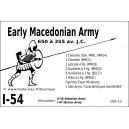 DBA3.0 - 1/54 EARLY MACEDONIAN ARMY 650-355 BC