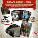 Pack de cartes Escape vers Eden
