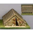 15 mm Roman Legionary Tent - battant ouvert