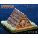 15 mm Medevial Straw Hut
