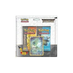 Duo Pack GENERATIONS Pokemon + Promo Celebi
