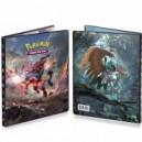 Boite de Portfolio - Cahier range-cartes Pokemon SOLEIL ET LUNE - 80 cartes
