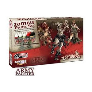 Zombie Black Plague Paint Set
