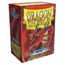 Dragon Shield - Standard - Red - 100 PROTEGES CARTES