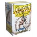 Dragon Shield - Standard - White - 100 PROTEGES CARTES