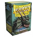 Dragon Shield - Standard - Green - 100 PROTEGES CARTES