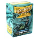 Dragon Shield - Standard - Turquoise - 100 PROTEGES CARTES