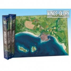 Tapis Bord de Mer - Wings of Glory : Game Mat Coast - 68x98