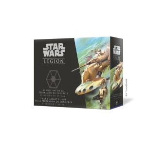 Char d'Assaut Blindé de la Fédération du Commerce - Star Wars Legion - VF