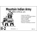 DBA3.0 - 2/2a MOUNTAIN INDIAN ARMY 500-170BC